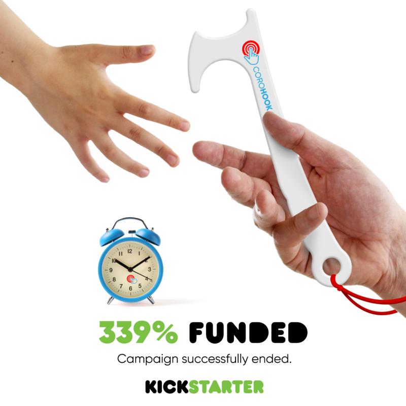 Kickstarter Corohook Funded